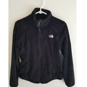 The north face black jacket soft small